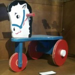 Toy horse from the Tryon Toy Makers in the TACS Heritage Collection