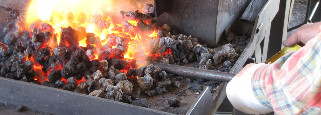 Coal Fire in the Forge